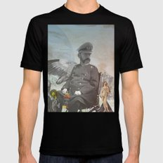 but where is Elvis and Bowie... MEDIUM Mens Fitted Tee Black