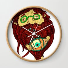 Ginger Toy Wall Clock