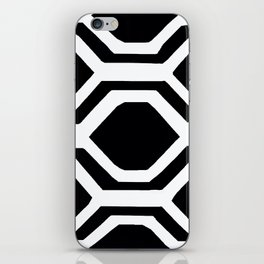 Black and White Geometric iPhone Skin