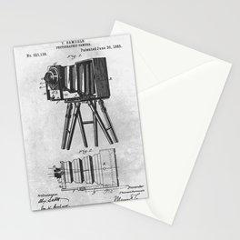 1885 Photographic camera Stationery Cards
