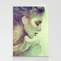 kpop Stationery Cards featuring June by Anna Dittmann