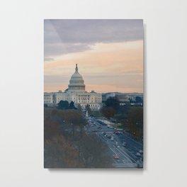 Capitol Hill Metal Print