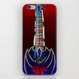 Fusion Keyblade Guitar #27 - Oblivion & Choas Ripper iPhone Skin