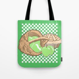 Basket of Granny Smith Apples & Pie Tote Bag