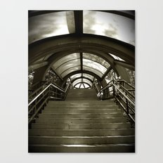 Elephant Stairs Canvas Print