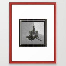 ACCIDENTAL RAIN Framed Art Print