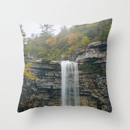 Awosting Falls Throw Pillow