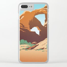 Arches National Park Clear iPhone Case