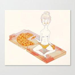 Pizza Pizza Pizza Canvas Print