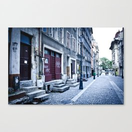 Bucharest Canvas Print