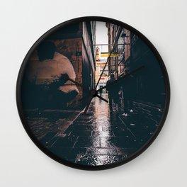 Panda Alley. Wall Clock