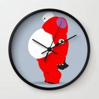 baymax Wall Clocks featuring Baymax by Raquel Segal