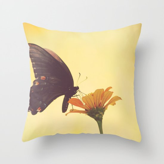 Shadow Dancing on the Wind Throw Pillow