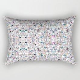 Geometricly Speaking Rectangular Pillow