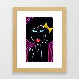 afro chic Framed Art Print