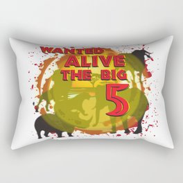 The Big 5 African Design Rectangular Pillow