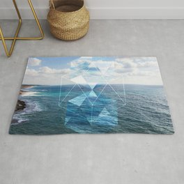 Sacred Geometry Seaview Rug