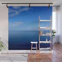 Where Water Meets Sky... | Blue Water and Sky Horizon | Landscape Wall Mural