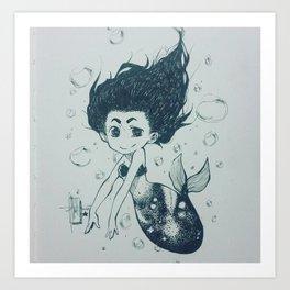 Galacticmaid Art Print