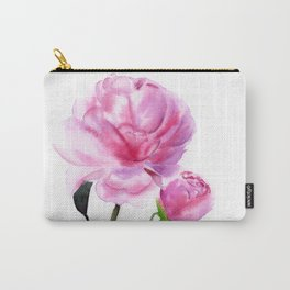 peonies Carry-All Pouch