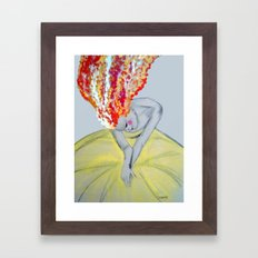 zaza Framed Art Print