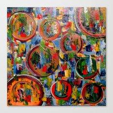 Circles of Life Canvas Print