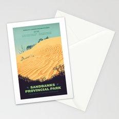 Sandbanks Provincial Park Poster Stationery Cards