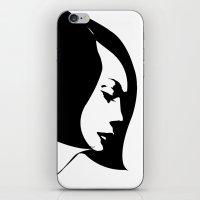 budi satria kwan iPhone & iPod Skins featuring kwan by modernfred