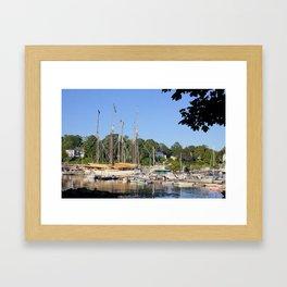 Camden Harbor, Maine Framed Art Print