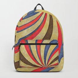 Dizzy Hipster Swirl Backpack