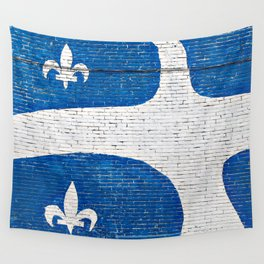Vive le Quebec! Wall Tapestry