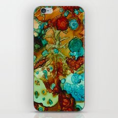 flora beginnings Abstract iPhone & iPod Skin