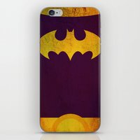 batgirl iPhone & iPod Skins featuring Batgirl by Fries Frame