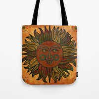 grunge Tote Bags featuring Grunge by BohemianBound