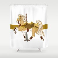 fili Shower Curtains featuring Fili by MarieJacquelyn