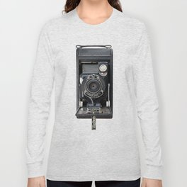 Vintage Autographic Kodak Jr. Camera Long Sleeve T-shirt