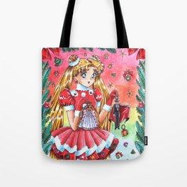 Usagi Merry Christmas Tote Bag
