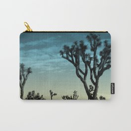 Joshua tree park blue Carry-All Pouch