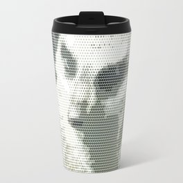 Halftone pixel fun MEERKAT Travel Mug