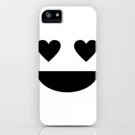 In Love Happy Face Darling Be Happy Enjoy Your Life iPhone Case