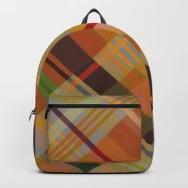Colorful Plaid #2 Backpack