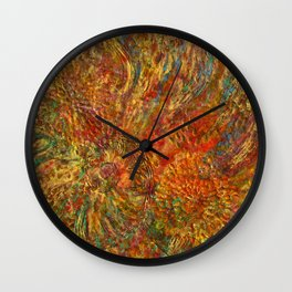 When love is painting... Wall Clock