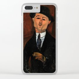 Amedeo Modigliani - Paul Guillaume - 1915 Clear iPhone Case