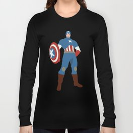 Steve Rogers Long Sleeve T-shirt
