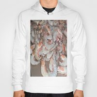 large Hoodies featuring Large shrimp by lennyfdzz