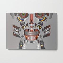Robotics Metal Print