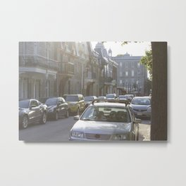 Montreal's Plateau Mont-Royal, one summer afternoon Metal Print