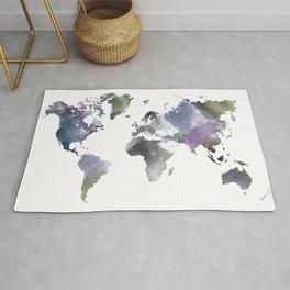 Watercolor World Rug