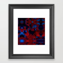 spider man pattern 2 Framed Art Print