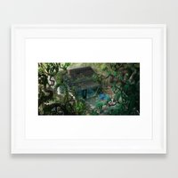 florida Framed Art Prints featuring Florida by Ryan Smith